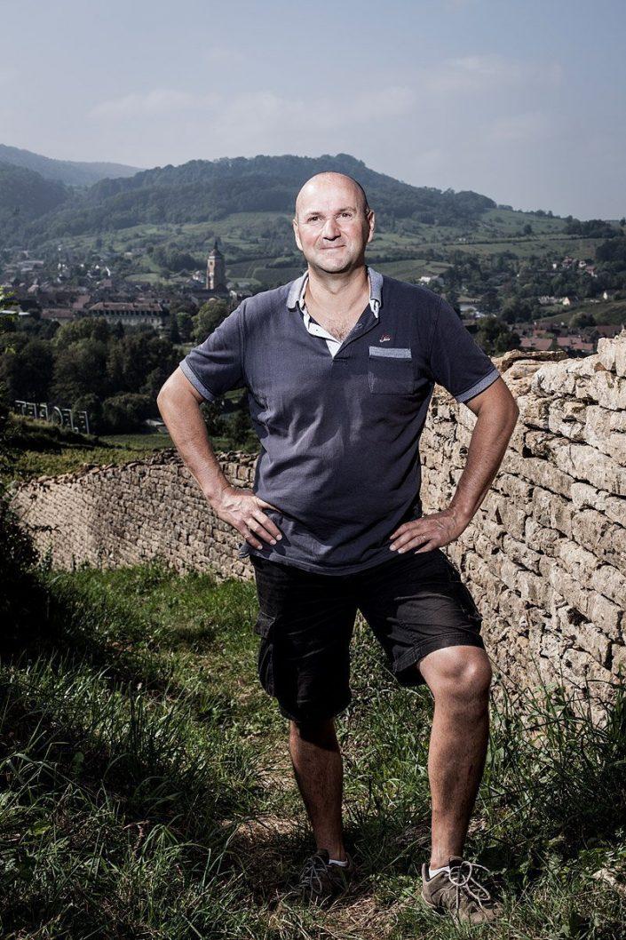 Stéphane Tissot - Arbois - Jura - France - 2014/09/11 © Denis Dalmasso